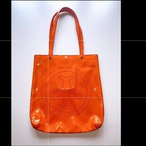 Tory Burch Orange Summer Bag
